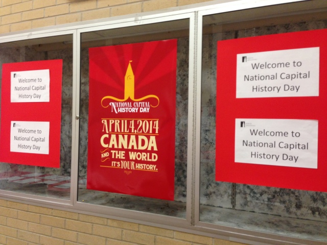 Innovative Classroom History : National capital history day be a part of canada s