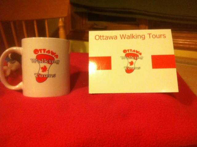Ottawa Walking Tours, one of National Capital History Day's sponsors, is also providing a prize package.