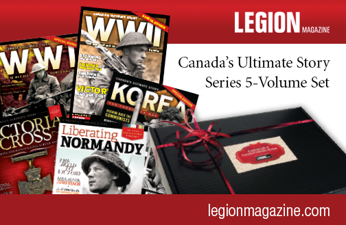 You could win a gift box of five of Legion Magazine's special editions — perfect for classroom use and worth more than $75.