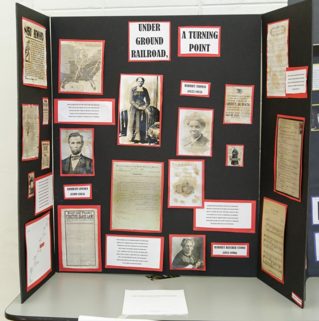 One of the Exhibits entered in National Capital History Day 2014. Photo by Jana Chytilova, National Capital History Day.