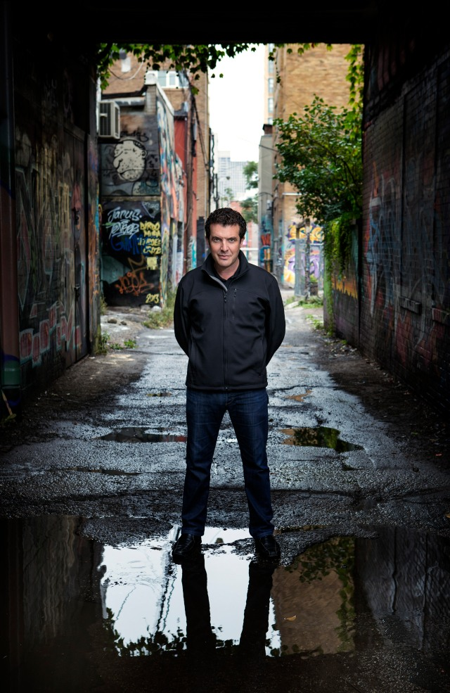 Rick Mercer has a message for Canada's young historians. Credit: Courtesy cbc.ca