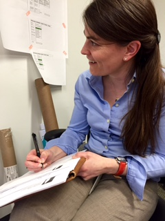 NCHD Registrar Alison Peters is double-checking all our student entries.