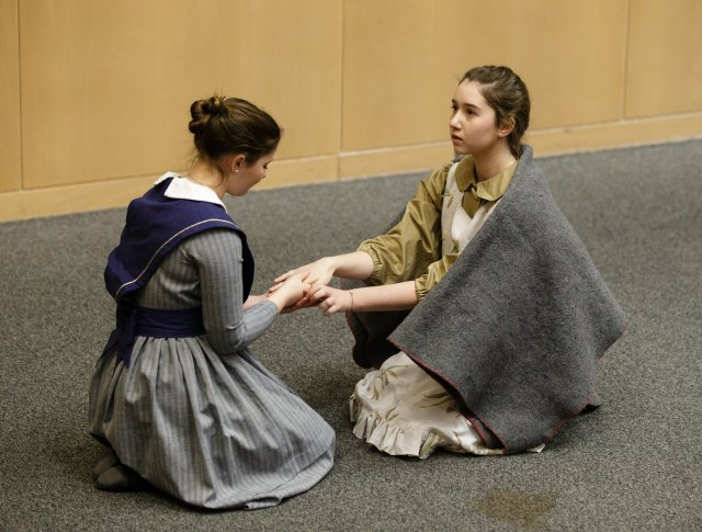 The Drama projects brought stories of the past to life. Photo by Jana Chytilova, National Capital History Day.