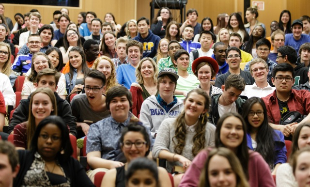 Students from across the National Capital region attended NCHD. Photo by Jana Chytilova, National Capital History Day.