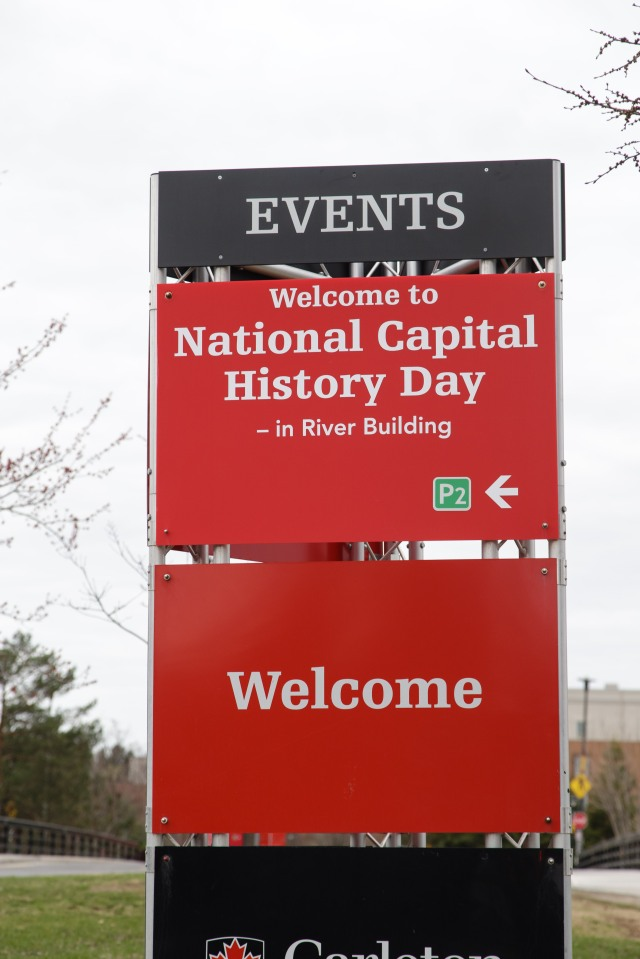 We're already planning for NCHD16 at Carleton University. Photo by Jana Chytilova, National Capital History Day.